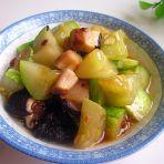 黄瓜炖香菇