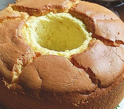 黄油烫面分蛋海绵蛋糕