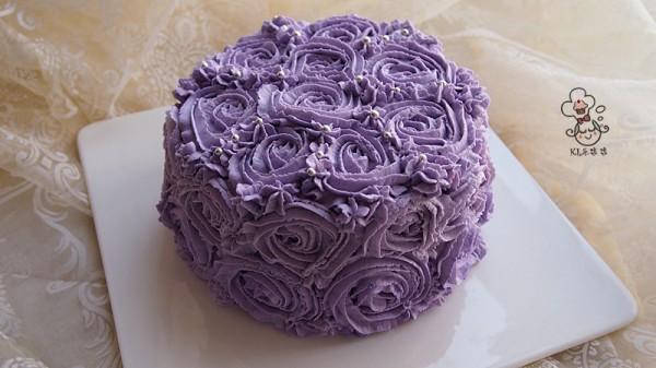 花式奶油蛋糕
