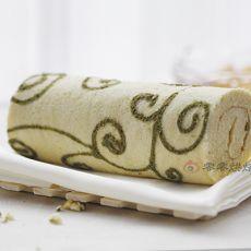 花纹戚风蛋糕卷