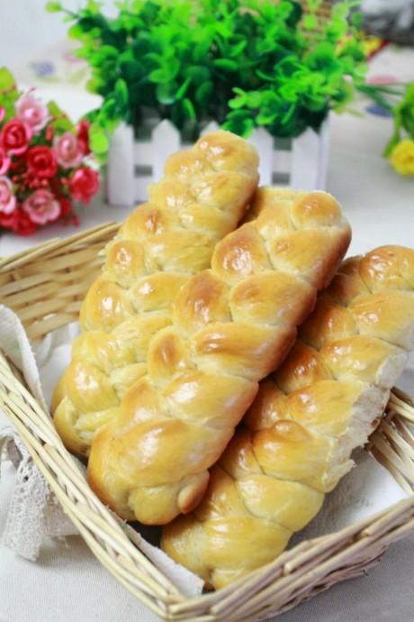 花形辫子面包