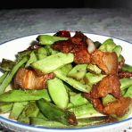 回锅四季豆的做法