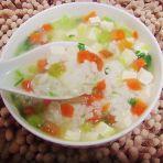 胡萝卜豆腐粥