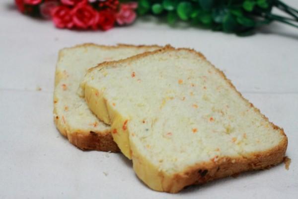 胡萝卜奶油面包