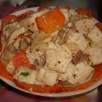 胡萝卜刨豆腐