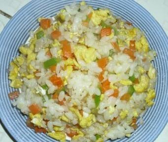 家常蛋炒饭的做法