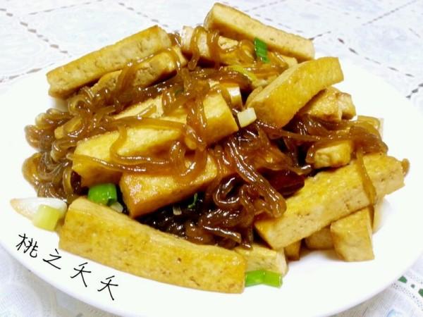 家常豆腐炒粉条