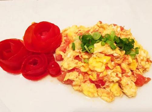 家常番茄炒鸡蛋