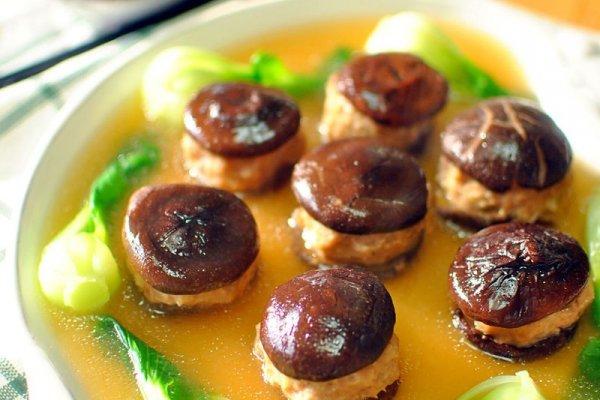家常香菇酿肉