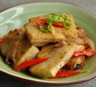 家常小炒豆腐的做法