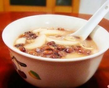 江豆百合年糕粥的做法