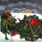 酱肉油菜柳