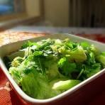 姜蒜蓉生菜的做法