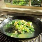 江瑶柱荠菜豆腐羹