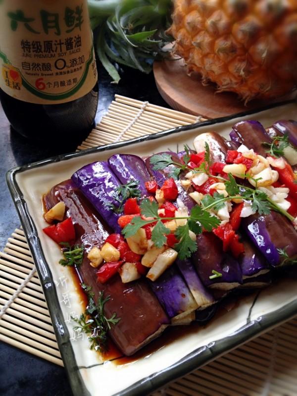酱油茄子捞