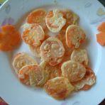 煎胡萝卜片