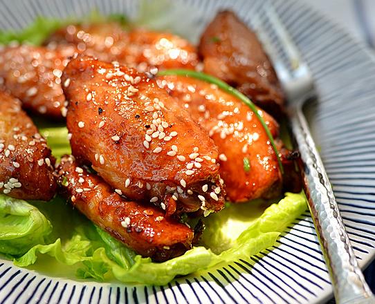 健康黑椒鸡翅