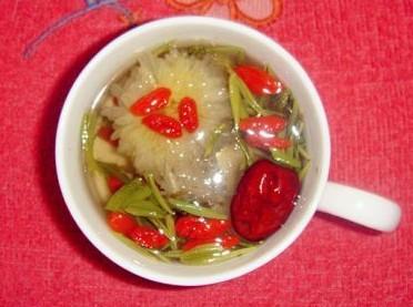 健康养生茶的做法