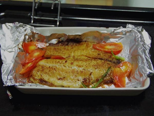 煎烤鲷鱼柳
