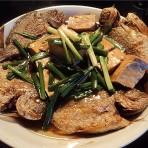 煎小鱼老豆腐