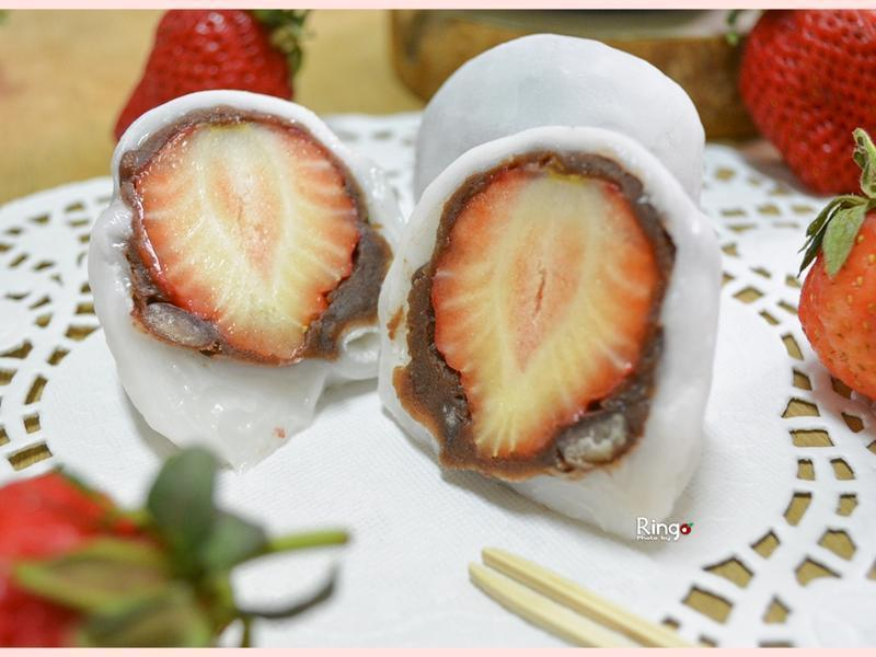 简易大福草莓的做法