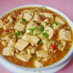 椒粒肉末烧豆腐
