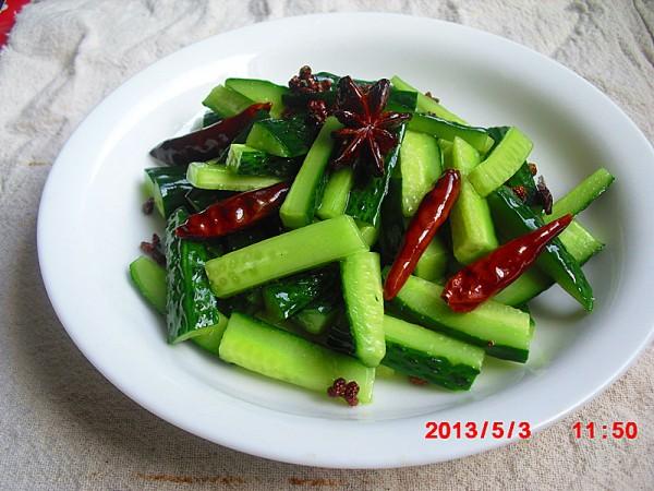 椒麻黄瓜条