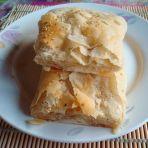 椒麻油酥烧饼