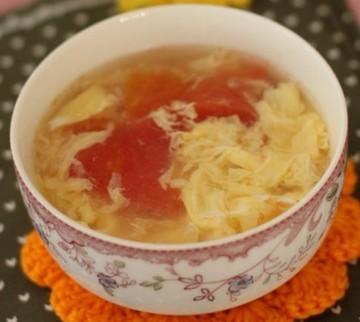 鸡蛋西红柿汤