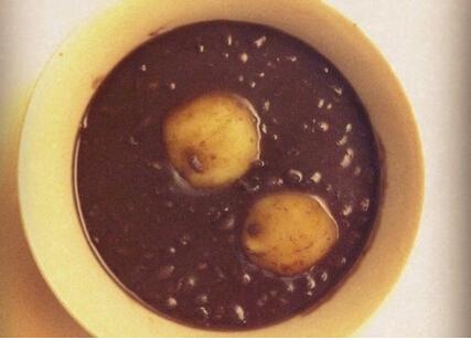 紅豆湯起士湯圓~巧克力湯圓的做法