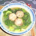 芥菜鱼丸汤