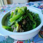 鸡骨芥菜汤