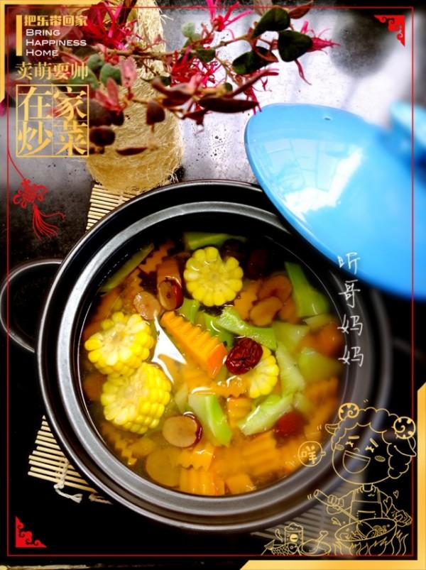 金瓜素汤的做法