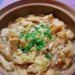 金菇蛋裹豆腐