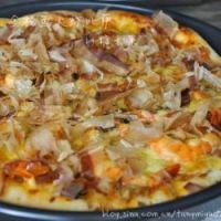 金枪鱼大虾比萨