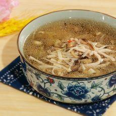 金针菇瘦肉汤