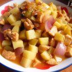 鸡肉土豆丁