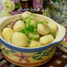 鸡汤炖芋儿
