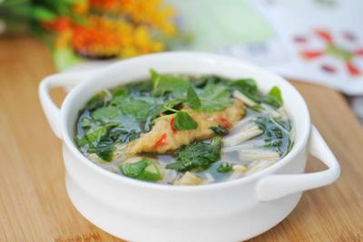 菌菇草头汤