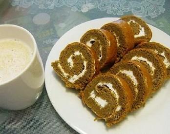 咖啡奶油蛋糕卷