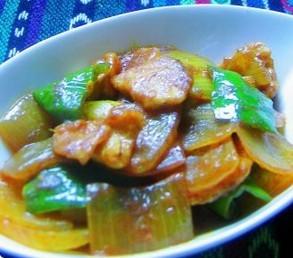 咖喱洋葱炒肉片