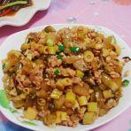 客家咸酸菜炒笋丁的做法