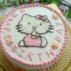 KITTY蛋糕的做法
