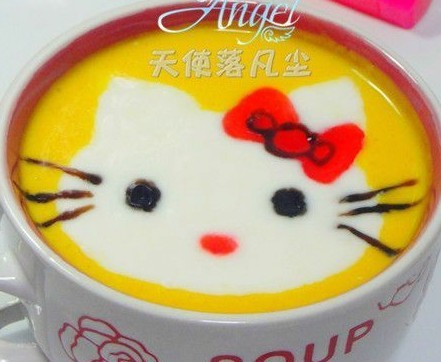 KT猫牛奶金瓜汤