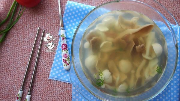 快手菌菇汤