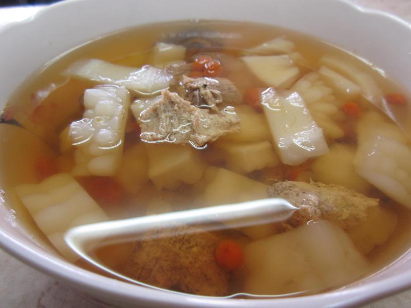 苦瓜素羊肉汤