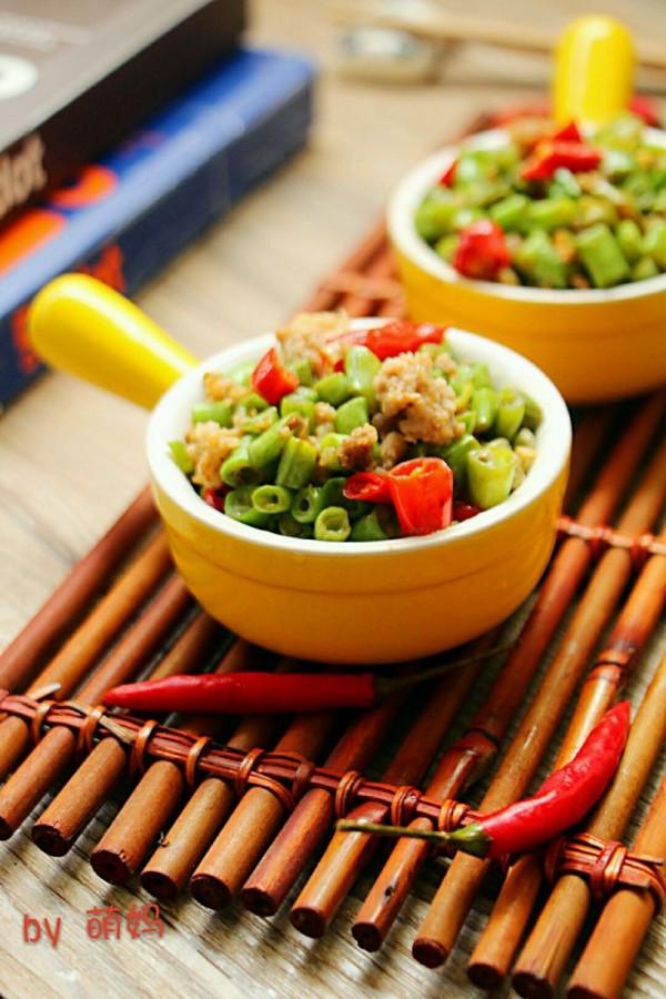 辣炒肉末豆角米
