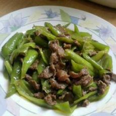 辣椒炒牛肉
