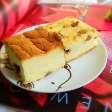朗姆果干戚风蛋糕