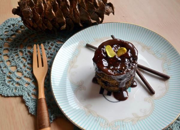 懒人版巧克力蛋糕